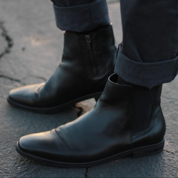 Calvin Klein Mens Chelsea Boots